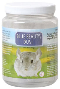 Blue Beauty Dust for Chinchilla Baths
