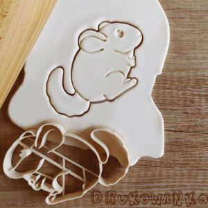 Chinchilla Cookie Cutters