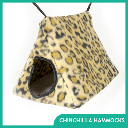 Chinchilla Hammock and Bed Fleece Items