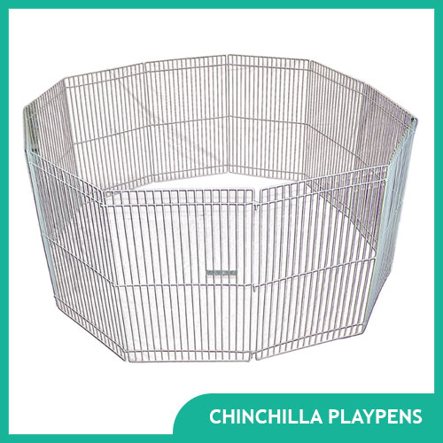 Chinchilla Playpens for Exercise and Playtime