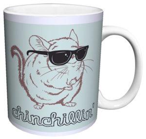 Chinchillin Coffee Mug Chinchilla Gift