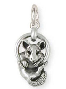 Sterling Silver Chinchilla Charm