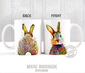Cute Bunny Rabbit Mug