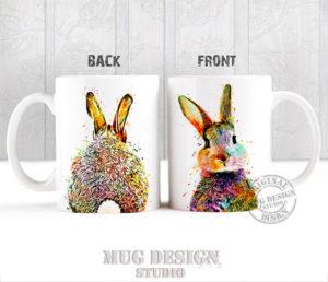 Cute Bunny Rabbit Mug