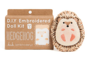 DIY Hedgehog Embroidery Doll Kit Gift