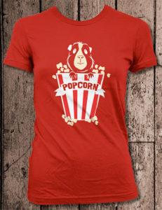 Guinea Pig Popcorn T-Shirt