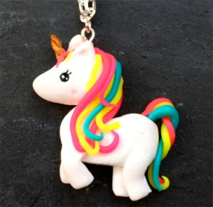 Handmade Unicorn Necklace