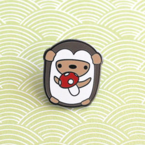Enamel Hedgehog Pin Gifts for Hedgehog Owners