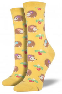 hedgehog-socks