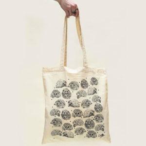 Hedgehog Canvas Tote Bag