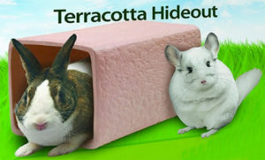 Kaytee Terracotta Chinchilla Hideout