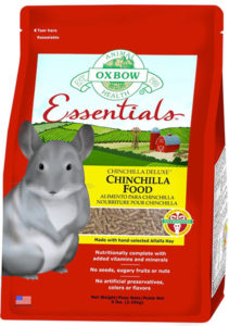 Oxbow Chinchilla Deluxe Fortified Food