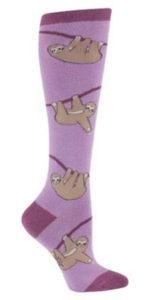 Sloth Knee Socks
