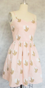 Sloth Love Summer Dress