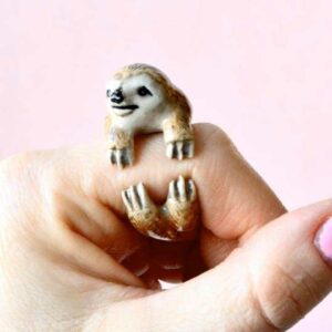 Sloth Ring Finger Hugger Gift Idea