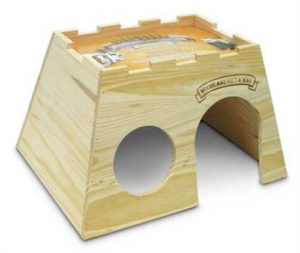 Super Pet Wooden Get-Away Chinchilla House