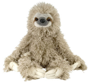 "Wild Republic Three Toed Sloth 12"" Plush"