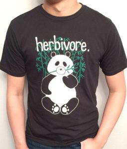 Herbivore Panda T-Shirt Panda Gift Ideas