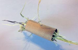 Cardboard Hay Tube