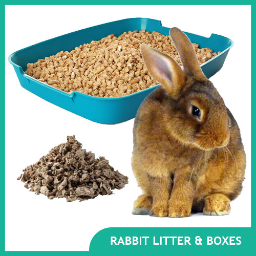 Rabbit Litter & Bunny Litter Boxes