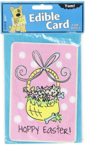 Edible Easter Crunch Card for Dogs