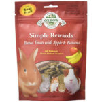 Oxbow Apple & Banana Treats for Rabbits