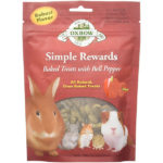 Oxbow Timothy hay & Bell Pepper Pet Rabbit Treats