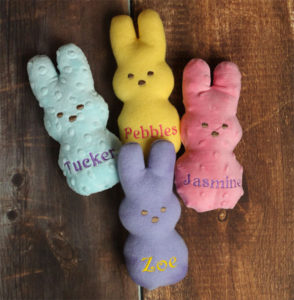 Personalized Peeps Easter Toys