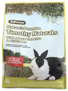 ZuPreem Food Nature's Promise Rabbit Pellets