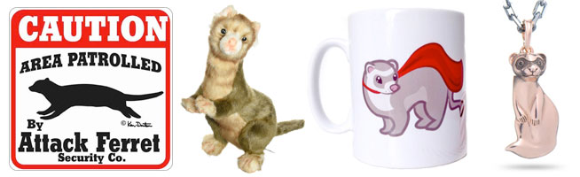 Adorable Ferret Gifts Owners Will Love