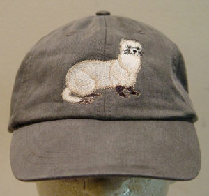 Embroidered Ferret Hat
