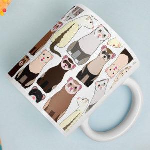 Ferret Mug Gift Idea