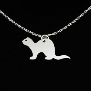 Ferret Necklace Gift