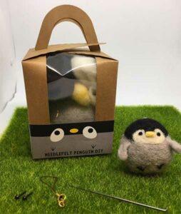 DIY Baby Penguin Needle Felting Kit