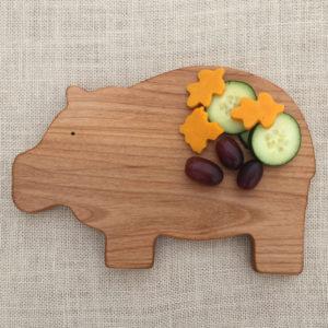 Hippo Breakfast Board Hippopotamus Gift