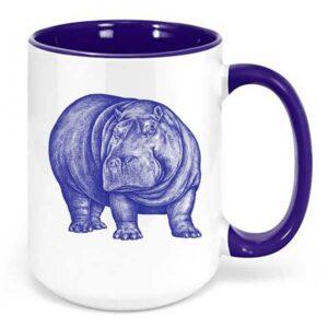 Hippo Mug Gift Idea