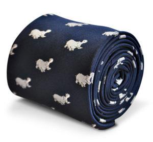 Men's Tie for Hippo Lovers