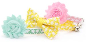 Cat Easter Collar with Flower - Easter Gifts for Cats