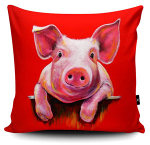 Cute Little Piggy Cushion - Pig Gifts