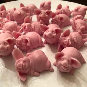 Handmade Pig Soap Gift