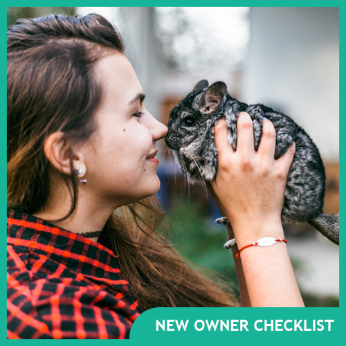 Chinchilla New Owner Checklist