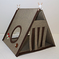 Rabbit Play Tent