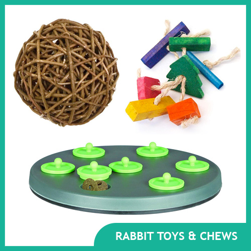 Rabbit Toys & Chews