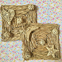 Rabbit Toys Vine Shredding Mats