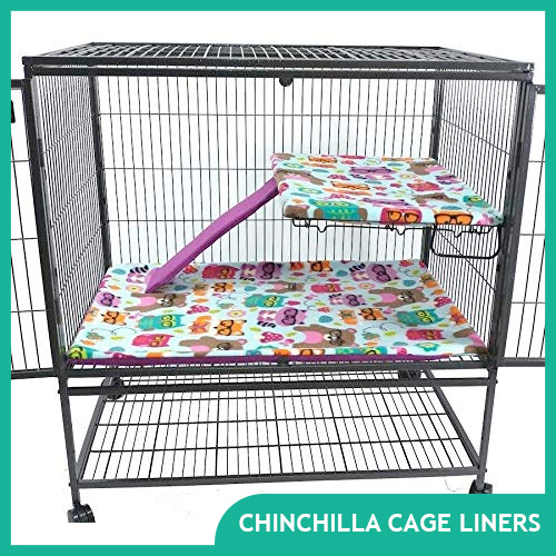 Chinchilla Fleece Liners for Your Cage