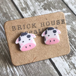 Cow Earrings Gift Ideas