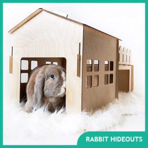 Best Rabbit Hideouts for your Bunny