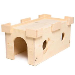 Wooden Rabbit Castle Hideout